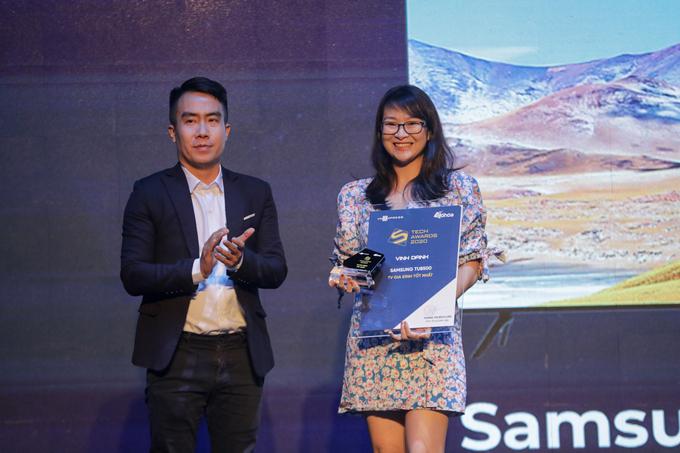 Samsung thắng cả hai giải cho TV xuất sắc của Tech Awards 2020.