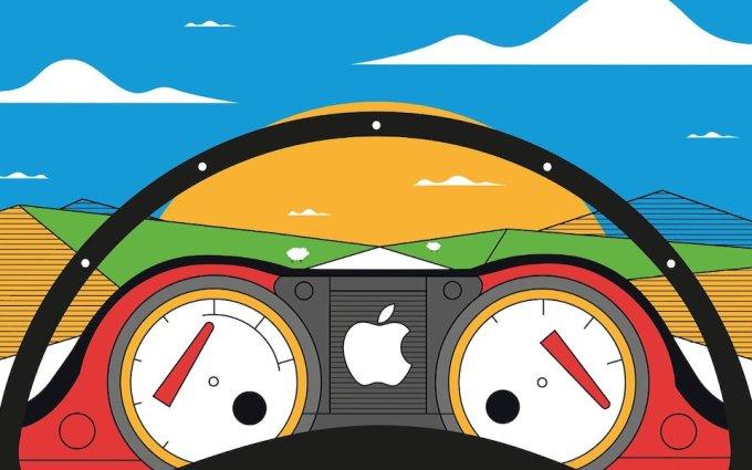 Apple có tham vọng lớn về xe tự lái. Ảnh: Telegraph.