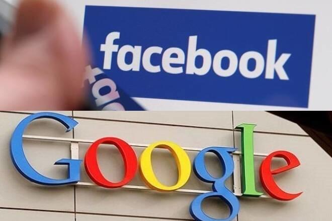Google và Facebook được cho là đã lợi dụng sự thống trị của mình để ký thỏa thuận độc quyền có lợi cho đôi bên. Ảnh: Reuters.