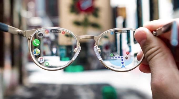 Một concept về Apple Glass. Ảnh: AppleInsider.