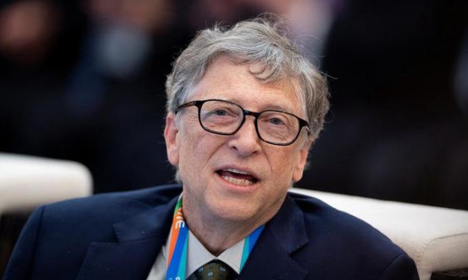 Bill Gates trong một sự kiện tại Thượng Hải, Trung Quốc, năm 2018. Ảnh: Reuters.