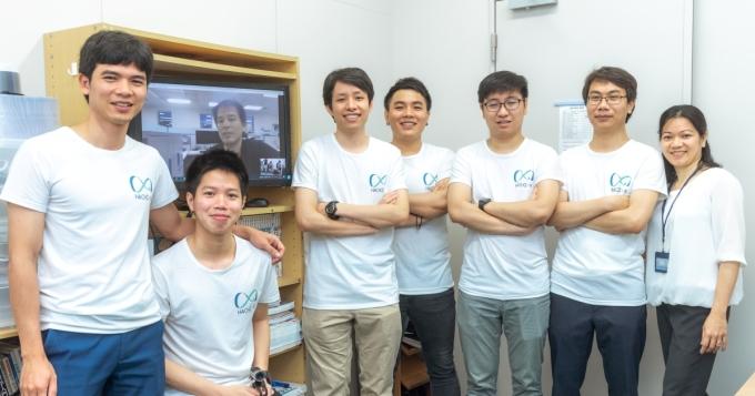 Đội ngũ người Việt trẻ tuổi của Hachix. Ảnh: Hachix.