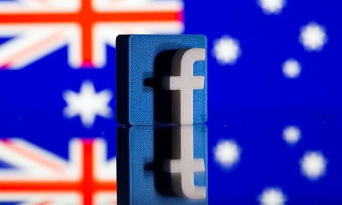 Hành động phô diễn quyền lực của Facebook được đánh giá là phản tác dụng. Ảnh: Reuters.