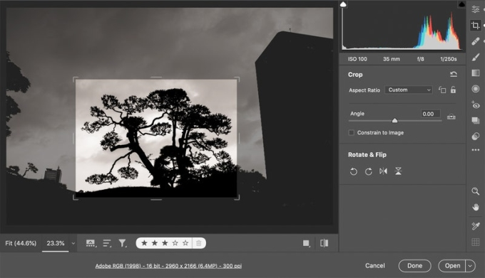 Đôi khi người dùng chỉ muốn cắt một nhỏ phần bức ảnh và Super Resolution giúp tăng độ phân giải cho phần đó.