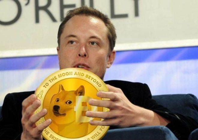 Giá Dogecoin tăng mạnh thời gian qua một phần do tác động của Elon Musk. Ảnh: Reddit.