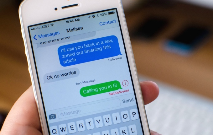 iMessage là dịch vụ độc quyền cho các thiết bị Apple.