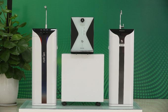 Bộ ba máy lọc nước Hydrogen 2021 của Kangaroo gồm: KG10A6s, KG100EED và KG100ES1 (từ trái qua phải).