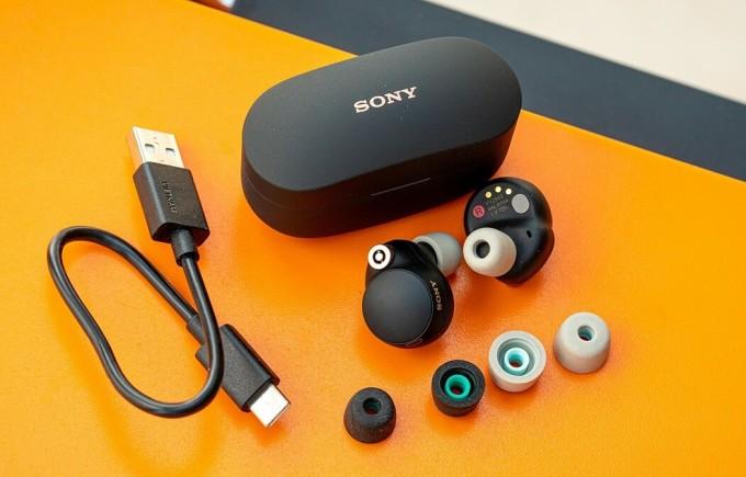 WF-1000XM4 sẽ là một trong những mẫu tai nghe chống ồn tốt nhất trên thị trường. Ảnh: Gsmarena.