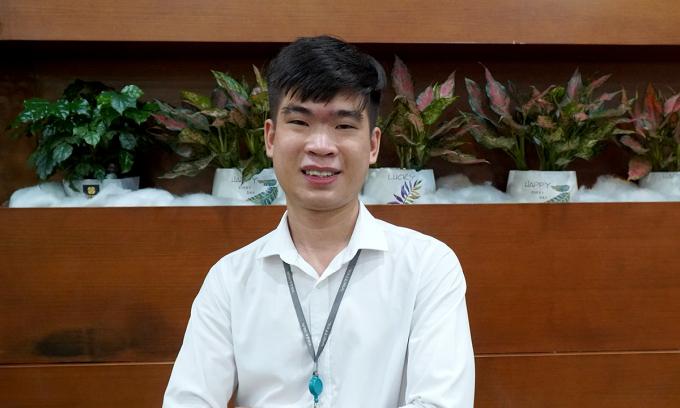 Tuấn Anh, sinh năm 1996, đang làm việc tại Viettel Cyber Security.