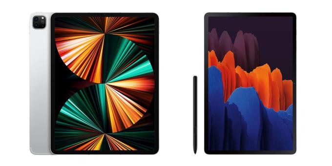 iPad Pro và Galaxy Tab S7 là những mẫu tablet nổi bật nhất hiện nay.