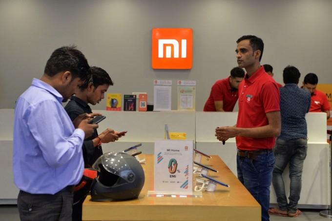 Một cửa hàng của Xiaomi ở Gurgaon, Ấn Độ. Ảnh: AFP