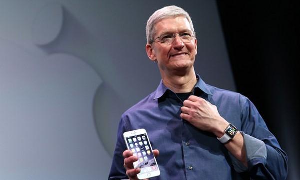 Doanh thu Apple chứng minh tài năng của Tim Cook