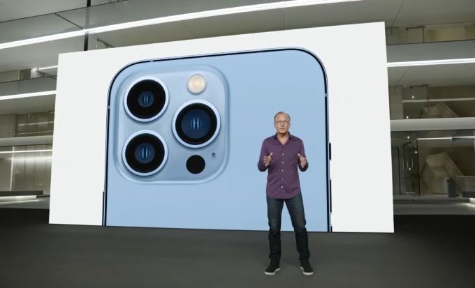 Đại diện Apple nói iPhone 13 Pro là điện thoại đầu tiên của khả năng quay video ProRes. Ảnh chụp màn hình