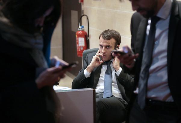 Tổng thống Pháp Emmanuel Macron và một số lãnh đạo thế giới khác được cho là nằm trong tầm ngắm của Pegasus. Ảnh: AFP