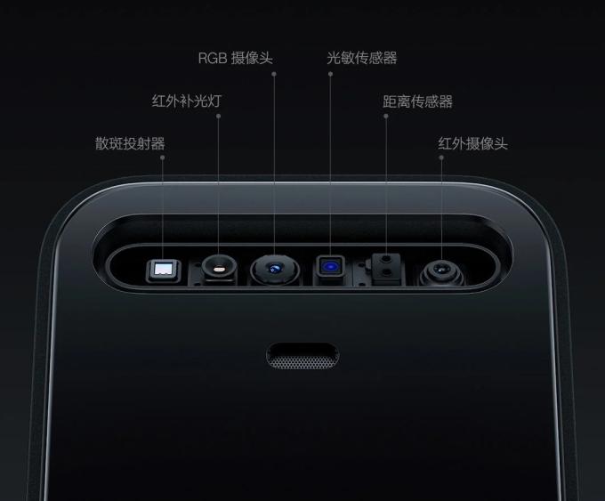 Mô-đun nhận diện khuôn mặt của Xiaomi Smart Door Lock X.