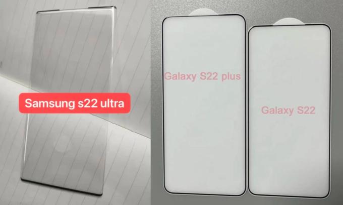 Galaxy S22 lộ ảnh mặt kính